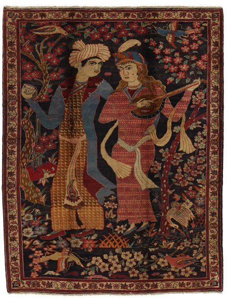Jozan - Sarough Tapis Persan 295x225