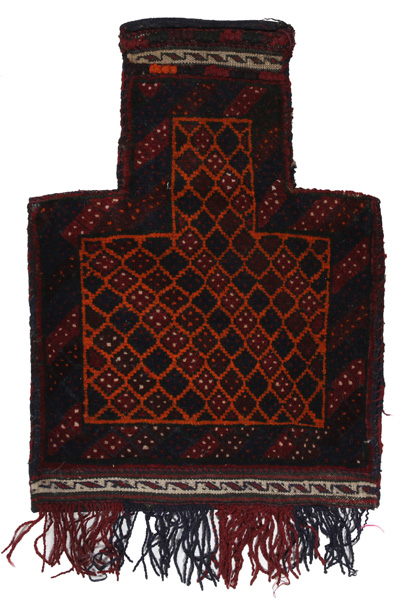 Beloutch - Saddle Bag Tapis Persan 53x38