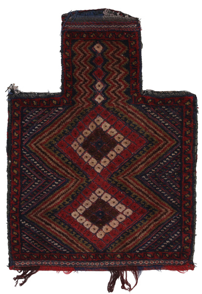 Turkaman - Saddle Bag Tapis Persan 55x39