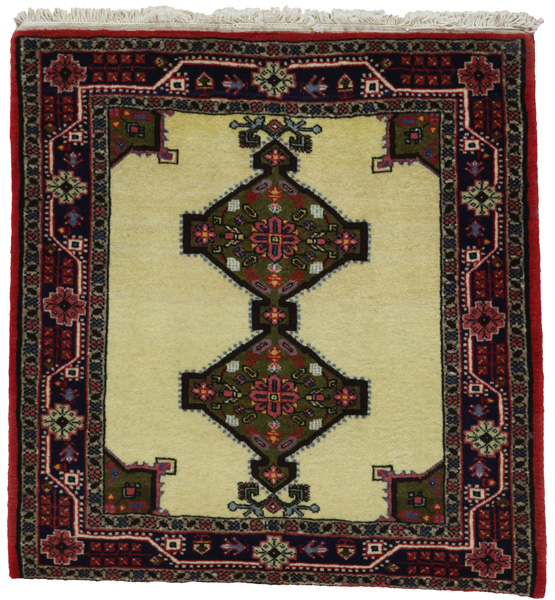 Jozan - Sarough Tapis Persan 83x81