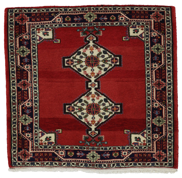 Jozan - Sarough Tapis Persan 80x85