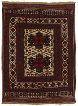Tapis Kilim and Rug Turkaman 260x193